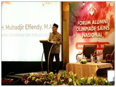 """Mendikbud kepada Alumni Olimpiade Sains: """"Indonesia Menagihmu"""""""